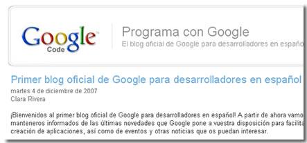 programar con google